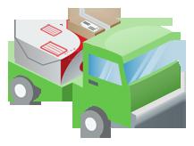 LnwShop วิธีการจัดส่ง