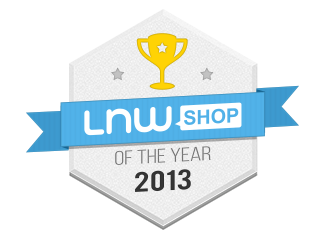 lnwshop of the year 2013 gold medal