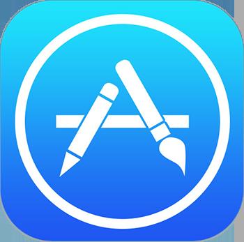 app store logo ios7