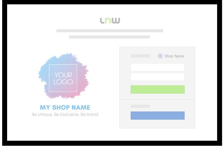 Be Brand LnwShop หน้า Login ของร้านโดยเฉพาะ