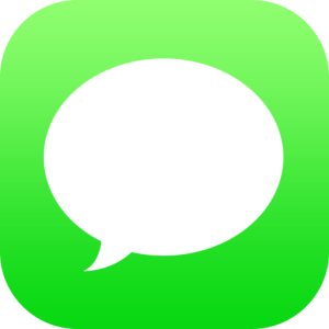 iOS message app lnwshop sms